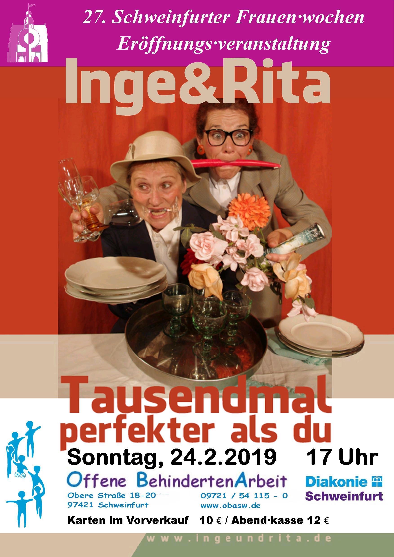 Inge & Rita zweite Zusatz•veranstaltung am 22.5.