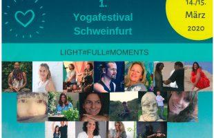 1. Yoga·festival in Schweinfurt