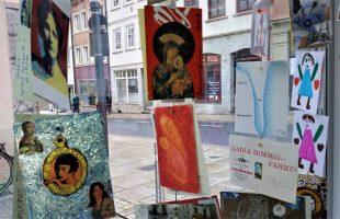 Mail Art Ausstellung Maria
