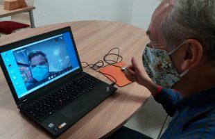 Teilnahme über Skype bei der Schreib·werkstatt